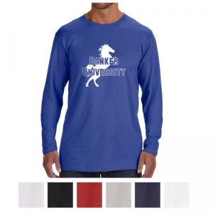 Hanes Men's Nano-T Cotton Long Sleeve T-Shirt