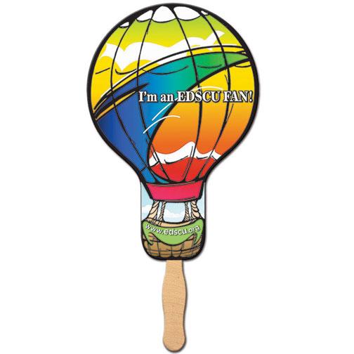 Hot Air Balloon / Light Bulb Shaped Hand Fan