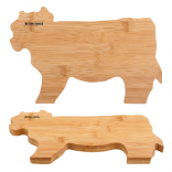 Natural Bamboo Moo Cutting Board