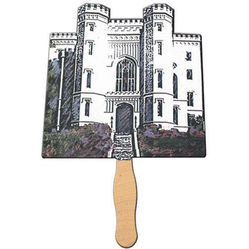 Castle Shaped Fan