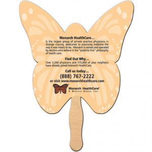 Butterfly Shaped Fan