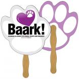 Paw Print Shaped Fan