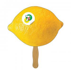Lemon Lime Shaped Fan