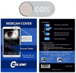 Webcam Cover Channel Tablet Metal