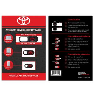 Webcam Cover Security Pack