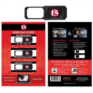 Webcam Cover Family Pack