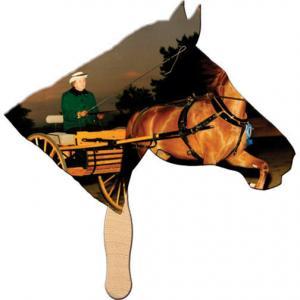 Horse Hand Fan