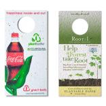 Rectangle Seed Paper Wine Bottle Tag