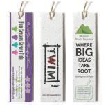 1 x 5 Tall Seed Paper Product Tag
