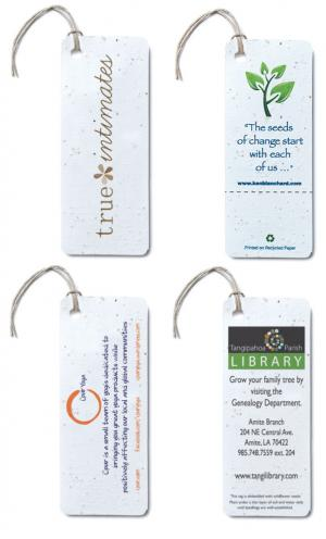 2 x 5 Large Seed Paper Product Tag