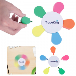 Five Color Spinning Highlighter