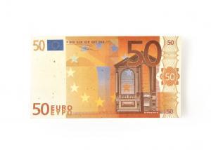 Seed Paper Euro Bill