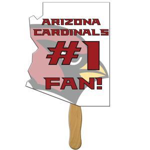Arizona State Shaped Hand Fan