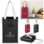 2 Times the Wine Tote