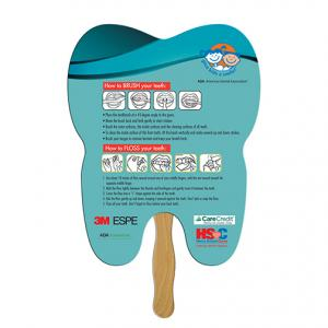 Tooth Shaped Hand Fan
