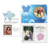 Seed Paper Shape Memorial Card