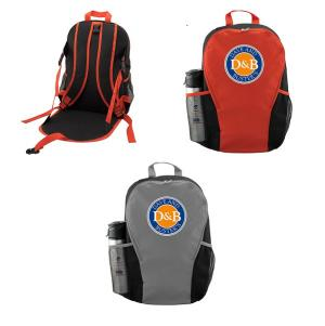 Backpack with Seat Cushion