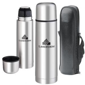 16 oz. Modern Sleek Thermos Bottle