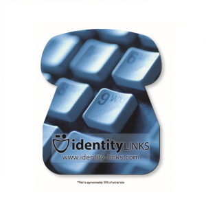 1/16 Soft Surface Telephone Shaped Mouse Pad
