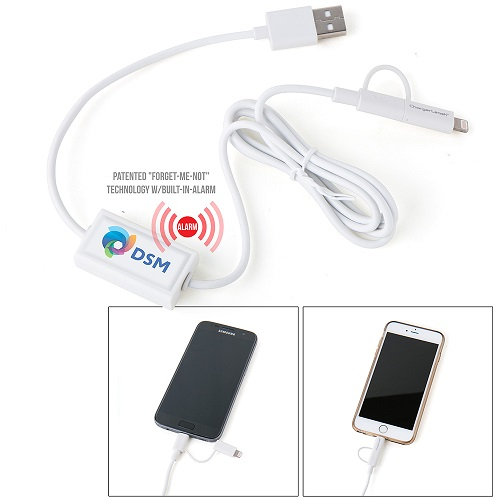 Dual Charger Cable Leash