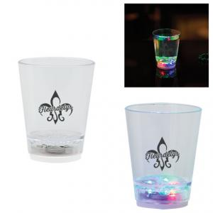 2 Oz. Light Up Glass