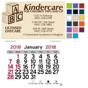 Day Care Themed Self-Adhesive Calendar