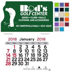 Golf Themed Self-Adhesive Calendar