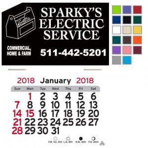 Toolbox Self-Adhesive Calendar