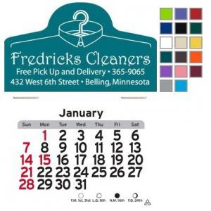 Barber Shop Self-Adhesive Calendar