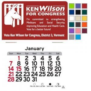 Democrat Donkey Self-Adhesive Calendar