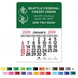 Dollar Sign Self-Adhesive Calendar