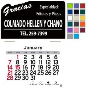 Gracias Self-Adhesive Calendar