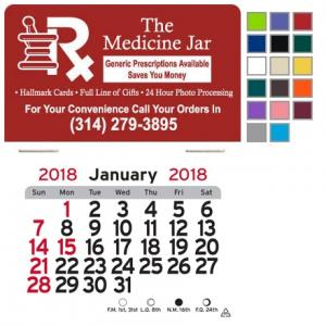 Pharmacy Self-Adhesive Calendar