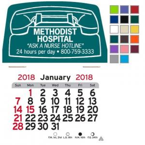 Telephone Self-Adhesive Calendar