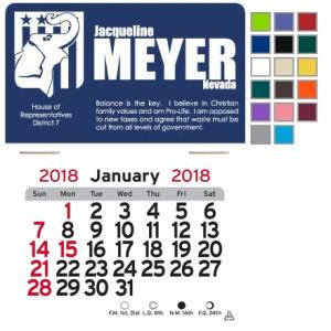 Republican Elephant Self-Adhesive Calendar