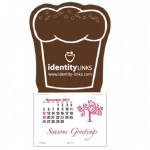 Muffin or Cupcake Self-Adhesive Calendar