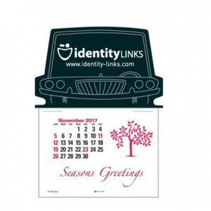 Car Front Self-Adhesive Calendar
