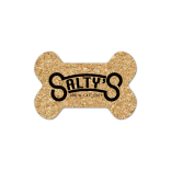 Dog Bone Cork Coaster