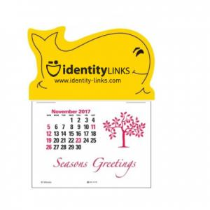 Whale Self-Adhesive Calendar