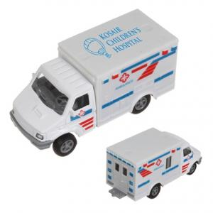 Die Cast Ambulance Truck