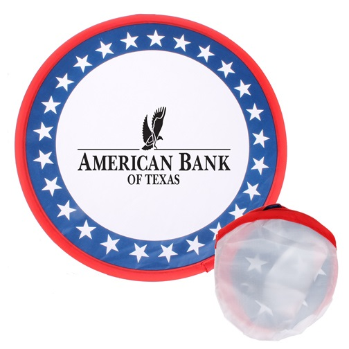 Collapsible Patriotic Frisbee Flyer