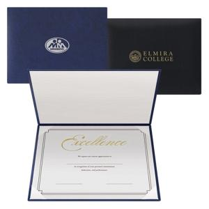 Leatherette Padded Certificate Holder