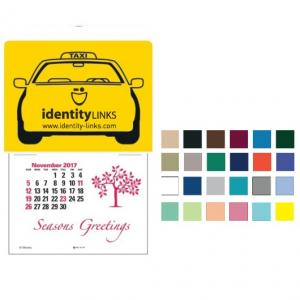 Outline of Taxi Self-Adhesive Calendar