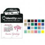 Imprinted with Car Self-Adhesive Calendar