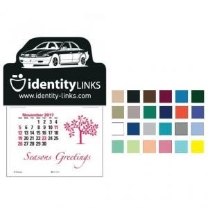 Imprinted with Car Self-Adhesive Calendar
