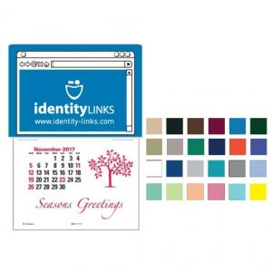 Webpage Imprint Self-Adhesive Calendar