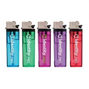 Transparent Standard Flint Lighter
