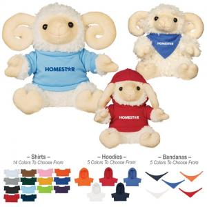 "6"" Rammy Stuffed Animal"