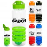 28 oz Easy Pour Sports Ring Bottle with Floating Infuser
