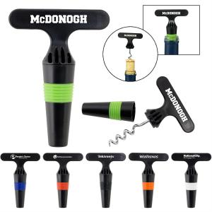 Wine Stopper and Opener